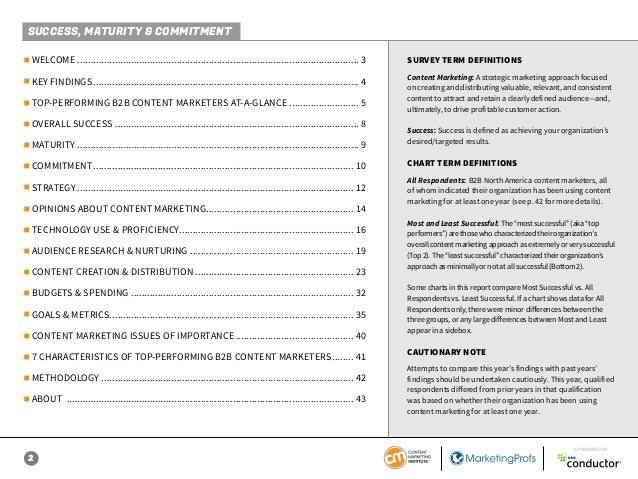 B2B Content Marketing 2019: Benchmarks, Budgets, and Trends—North America  Slide 2