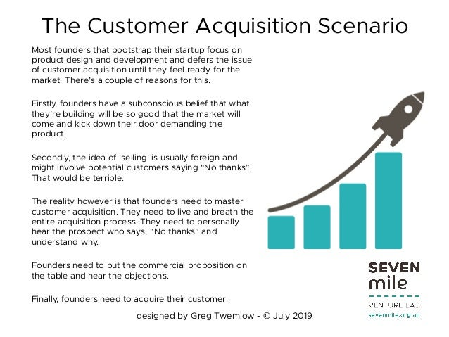 Customer acquisition playbook by greg twemlow july 2019 Slide 2