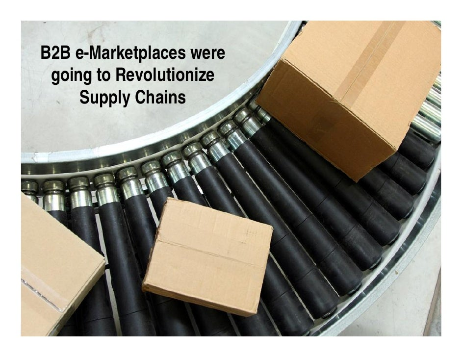 B2B e-Marketplaces were  going to Revolutionize      Supply Chains                               Slide 12 ©2009 GXS, Inc.