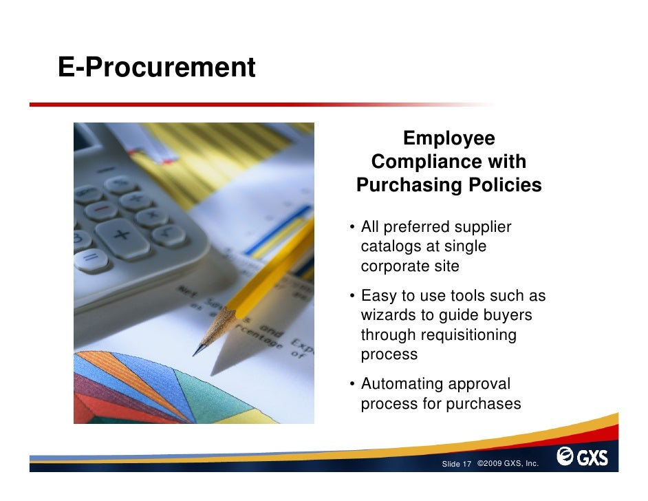 E-Procurement                      Employee                  Compliance with                 Purchasing Policies          ...