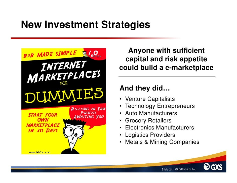 New Investment Strategies                       Anyone with sufficient                     capital and risk appetite      ...
