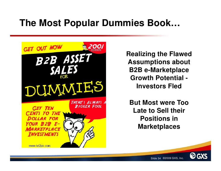 The Most Popular Dummies Book…                      Realizing the Flawed                    Assumptions about             ...