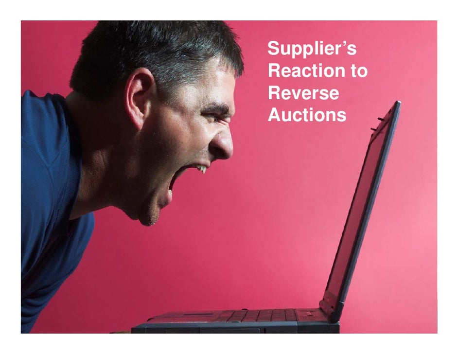 Not Popular with Suppliers                        Supplier's                         Reaction to                         R...