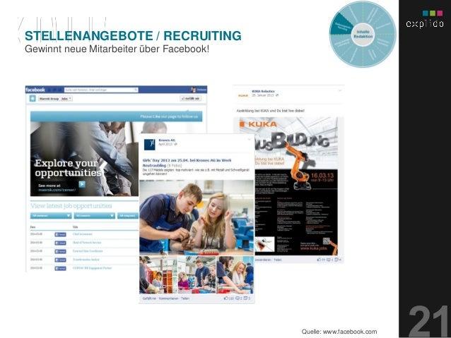 AUGBURG XX.XX.201X INHALTS- TEXT FOLIE Gewinnt neue Mitarbeiter über Facebook! STELLENANGEBOTE / RECRUITING Quelle: www.fa...