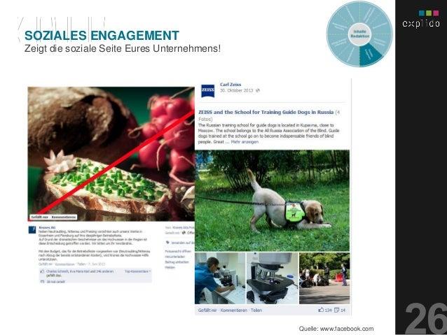 AUGBURG XX.XX.201X INHALTS- TEXT FOLIE Zeigt die soziale Seite Eures Unternehmens! SOZIALES ENGAGEMENT Quelle: www.faceboo...