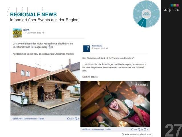 AUGBURG XX.XX.201X INHALTS- TEXT FOLIE Informiert über Events aus der Region! REGIONALE NEWS Quelle: www.facebook.com