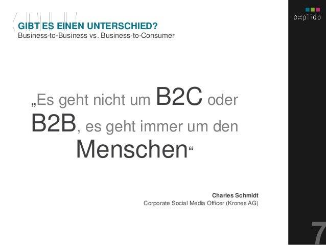 """AUGBURG XX.XX.201X INHALTS- TEXT FOLIE """"Es geht nicht um B2C oder B2B, es geht immer um den Menschen"""" Charles Schmidt Corp..."""