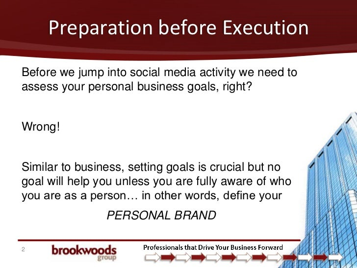 How B2B Marketers Can Use Social Media to Propel Their Personal Business Goals Slide 2