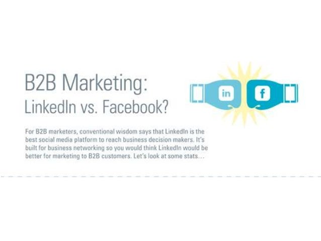 B2B Marketing - Facebook vs LinkedIn
