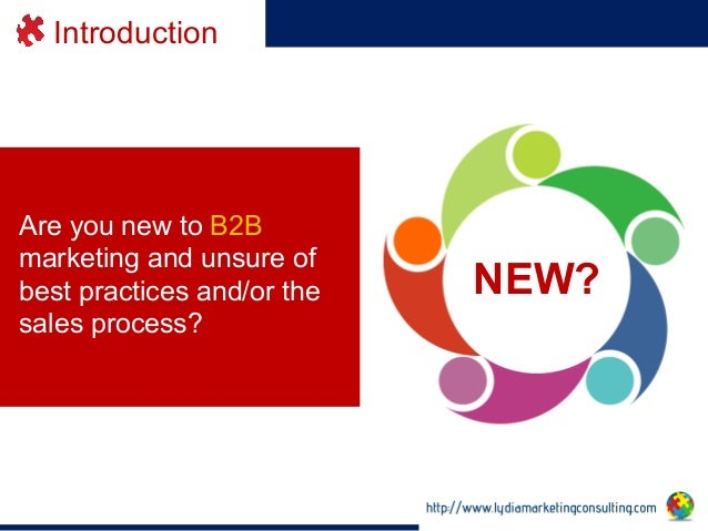 B2b marketing and communications integrated planning for Consul best practices