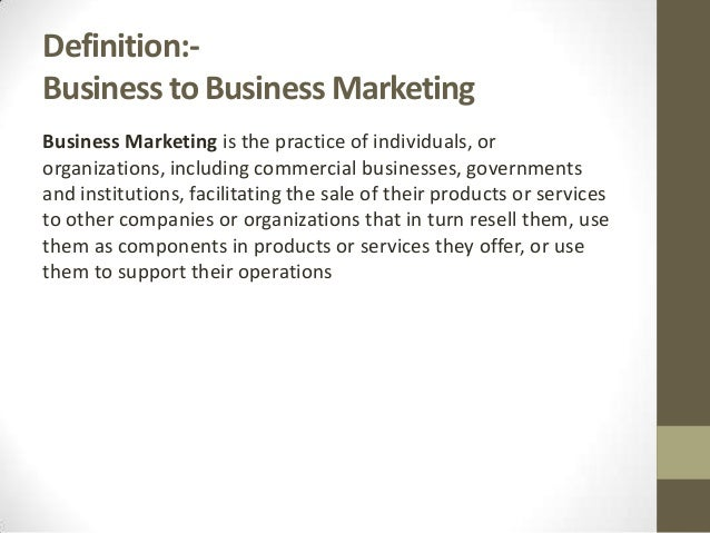 B2B marketing and general mistakes.