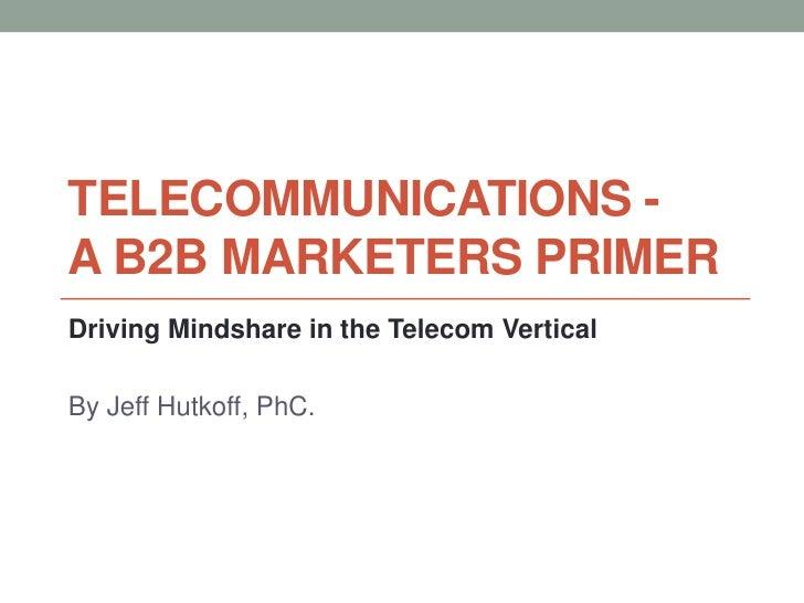 B2B Marketing - Telecommunications