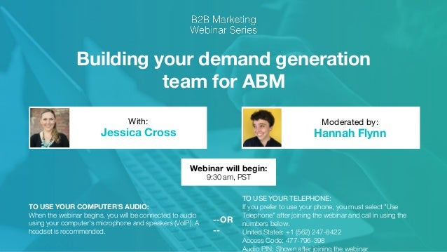 Trends in B2B Marketing: Building your Demand Gen Team for ABM