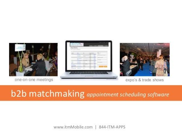 b2b matchmaking software
