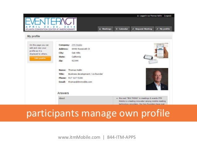 business matchmaking software