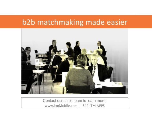 matchmaking B2B trend dating app