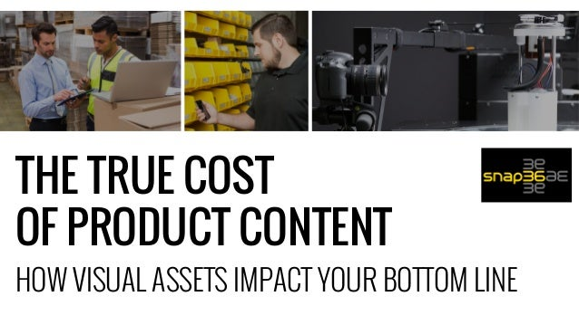 HOW VISUAL ASSETS IMPACT YOUR BOTTOM LINE THE TRUE COST OF PRODUCT CONTENT