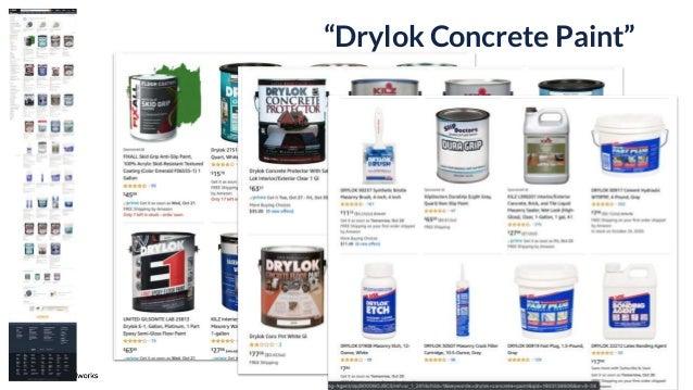 """11 """"Drylok Concrete Paint"""""""