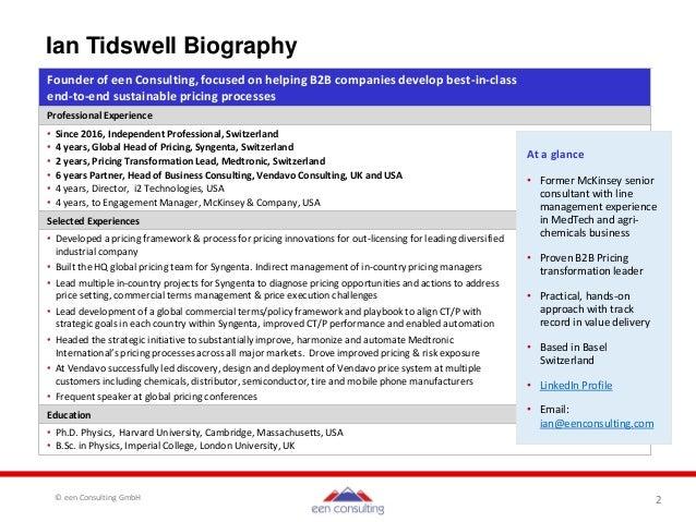 B2B Pricing Framework Elements Slide 2