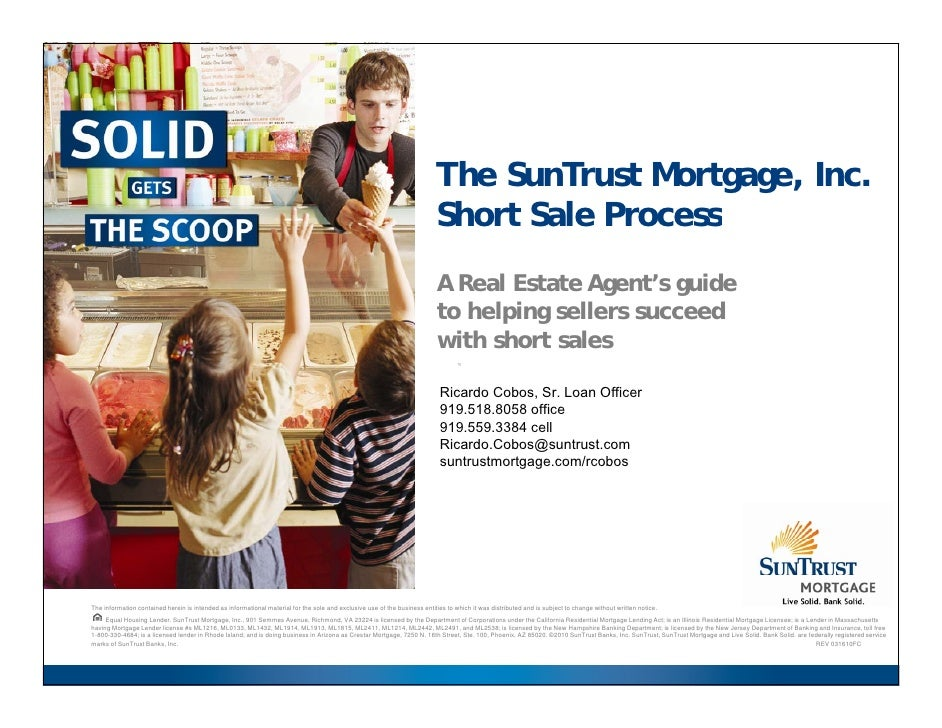 The SunTrust Mortgage, Inc.                                                                                               ...