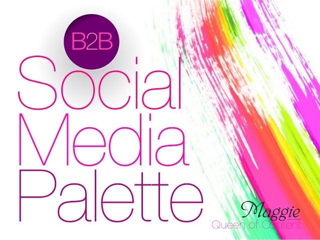 B2B Social Media Palette