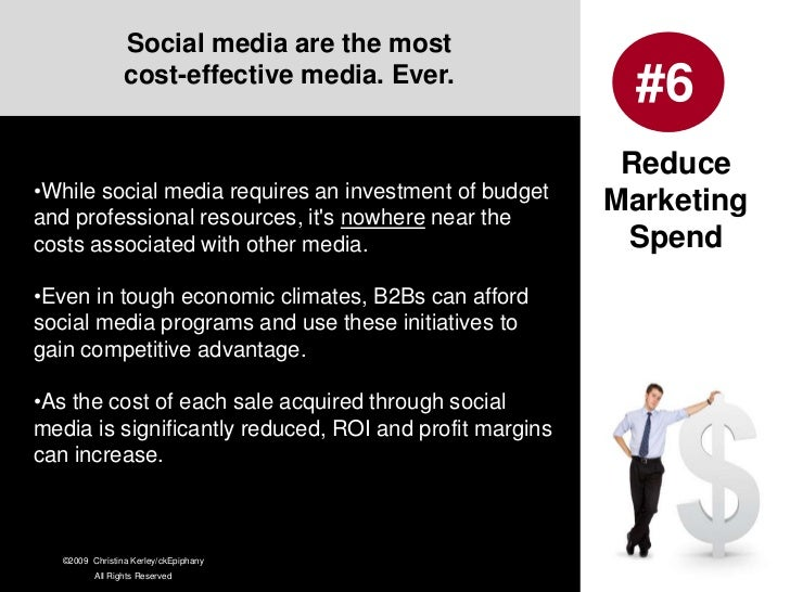 The convenience of social media allows more B2B executives to build relationships with current and prospective buyers… and...