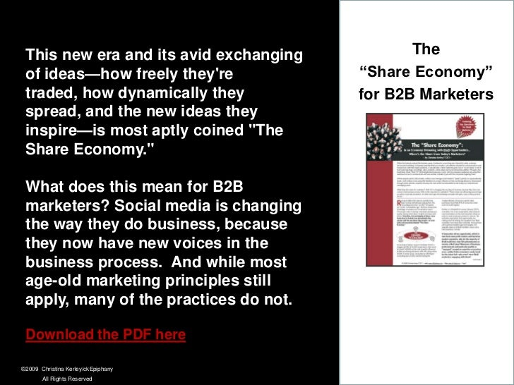 """B2Bs can """"repurpose and repackage"""" their existing thought-leadership content in new ways for these new tools, platforms an..."""