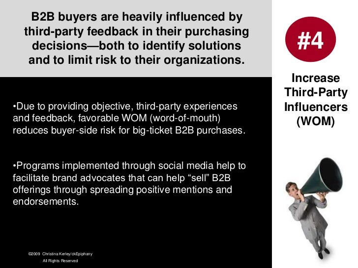 """B2B Branding is """"High Touch"""" and is mainly established through directly interfacing <br />with customers and relationship ..."""