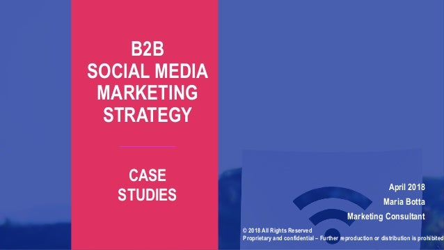 great b2b social media case studies