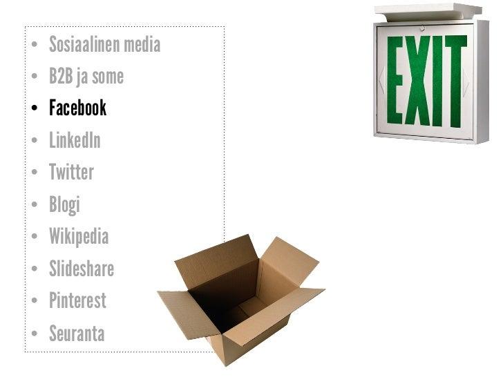 Sosiaalinen Media Haitat