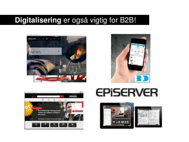 Digitalisering er også vigtig for B2B!