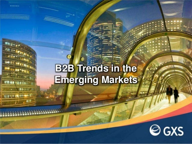 B2B Trends in the Emerging Markets