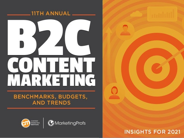 1 B2C CONTENT MARKETING B2C CONTENT MARKETING BENCHMARKS, BUDGETS, AND TRENDS 11TH ANNUAL INSIGHTS FOR 2021