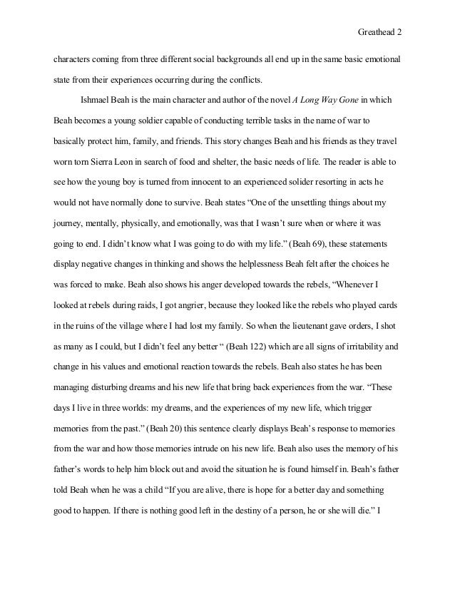 greathead wk final essay military literature