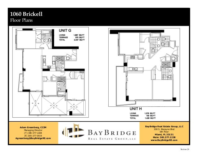 1060 Brickell Package (Reduced)
