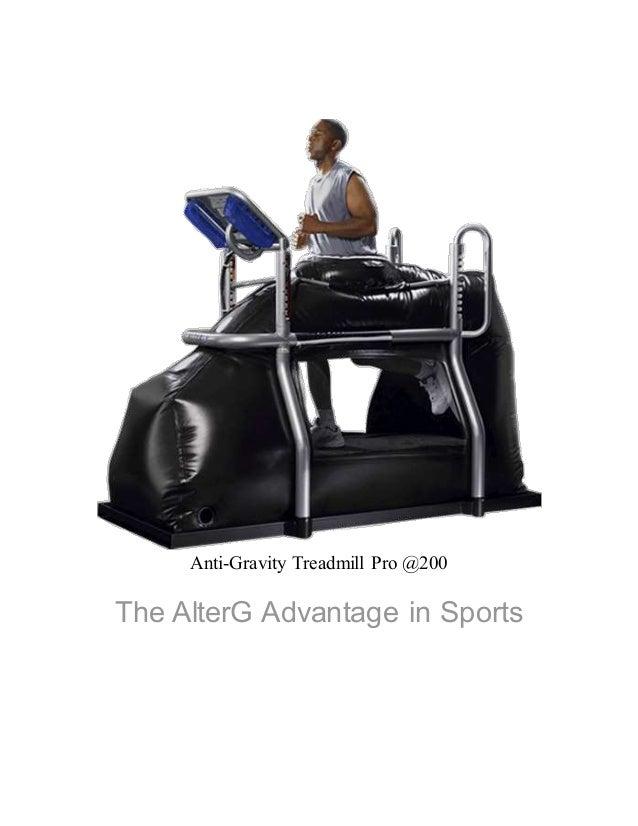 Anti-Gravity Treadmill Pro 200