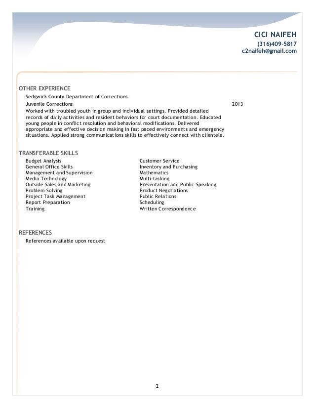 FedEx Professional Resume