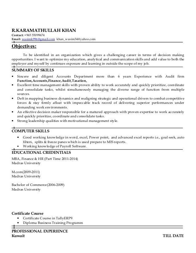 wasim khan new gulf resume 2