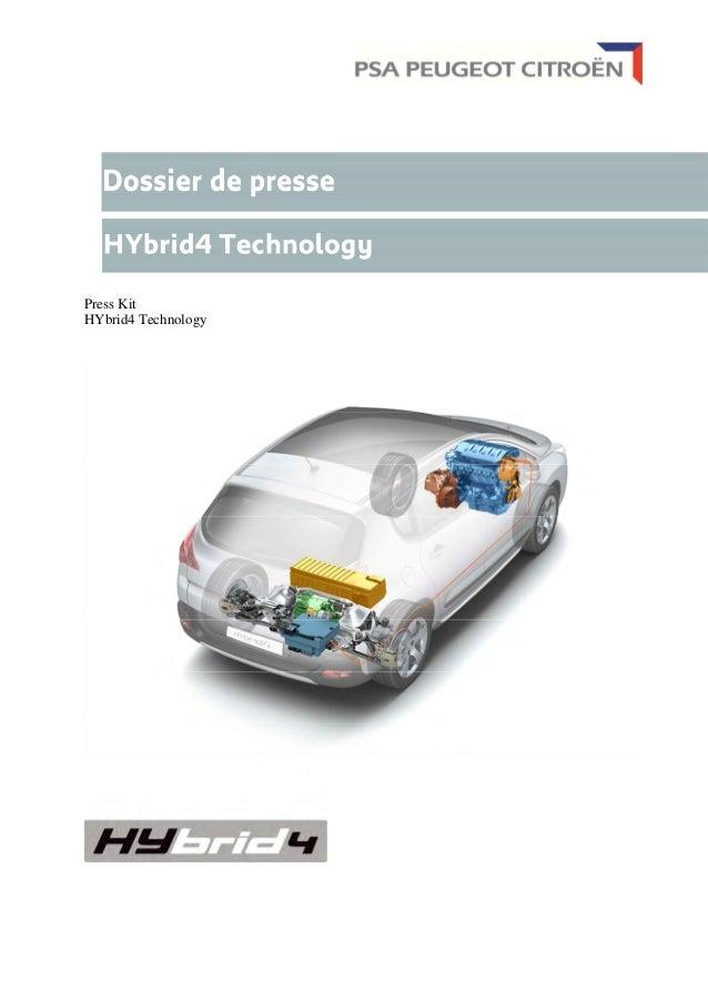 Press Kit HYbrid4 Technology