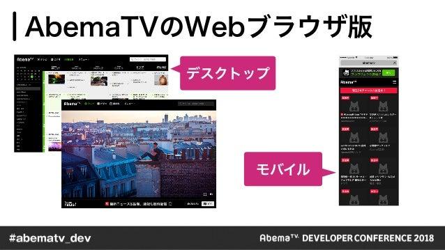 WebのSSR化とFastly移行 / AbemaTV DevCon 2018 TrackB Session B2 Slide 2