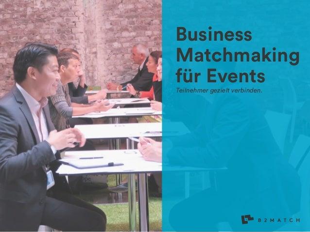 Business Matchmaking für Events Teilnehmer gezielt verbinden. B2Match Logo Variations