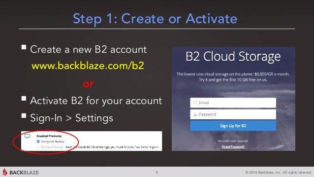 Backblaze B2 Cloud Storage Overview