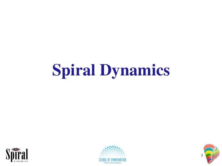 Spiral Dynamics                  1
