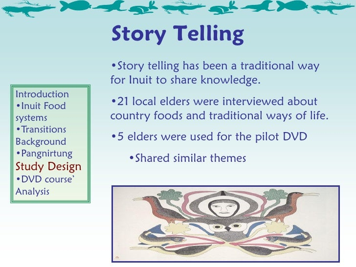 an introduction to the inuit culture Introduction to the inuit  inuit look to the survivors and the polar bear in the arctic setting the whole scene made me think about the inuit culture that did .