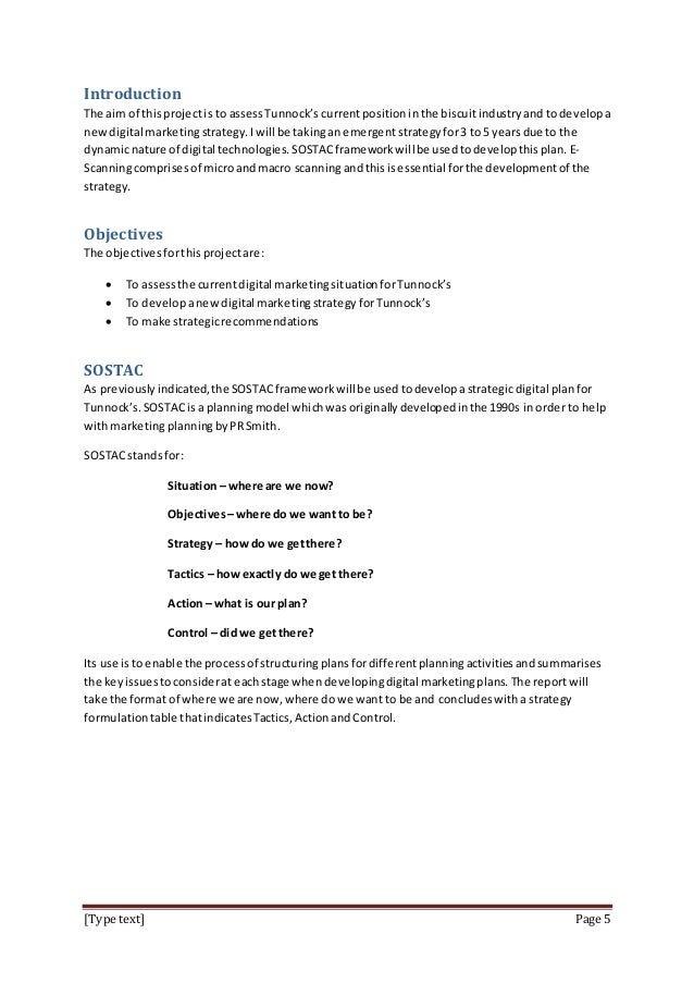 introduction to marketing coursework