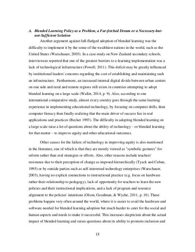 literacy essay examples