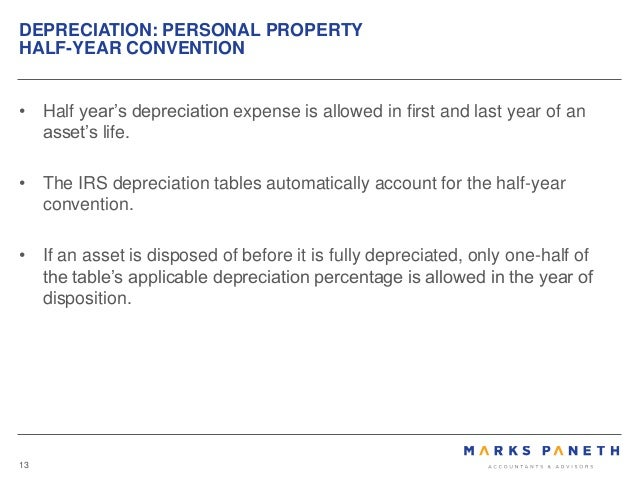 Commercial Property Depreciation
