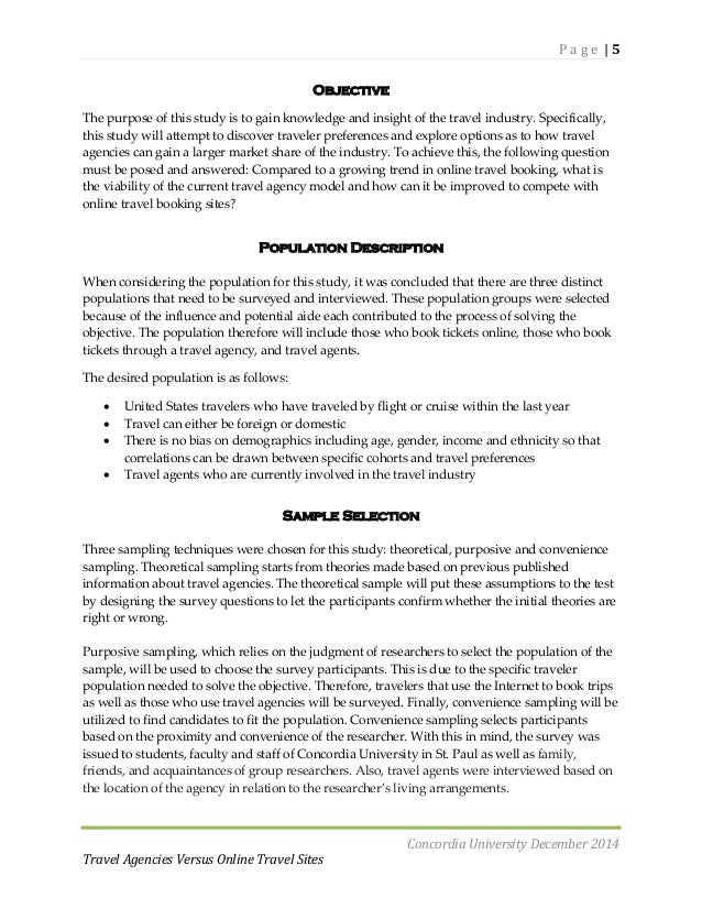 conclusion for online travel agency Read chapter chapter four - conclusions: trb's national cooperative  highway research program (nchrp) synthesis 329: integrating tourism and.