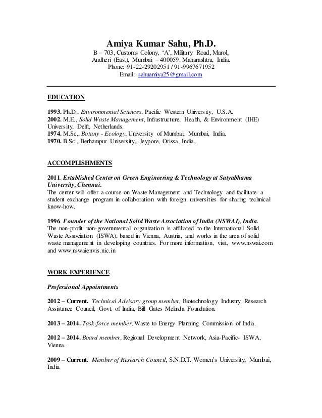 AKS Resume 2015