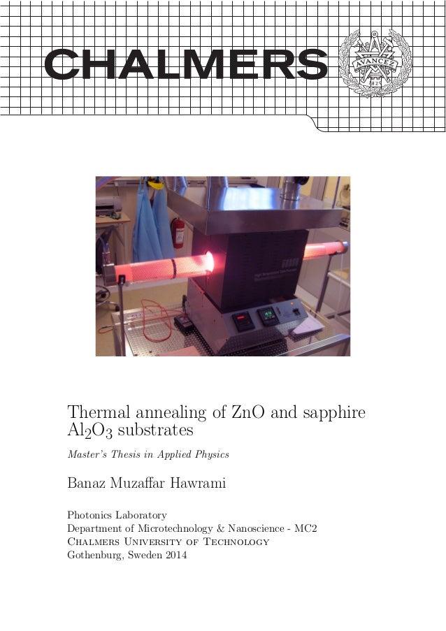zno thesis
